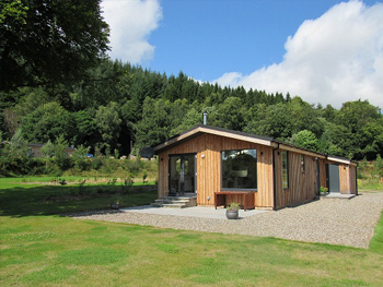 Stunning luxury residential lodges in Kenmore