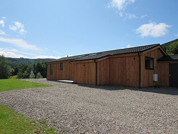 Lodges in perfect countryside location